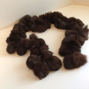 Rabbit Fur Boa